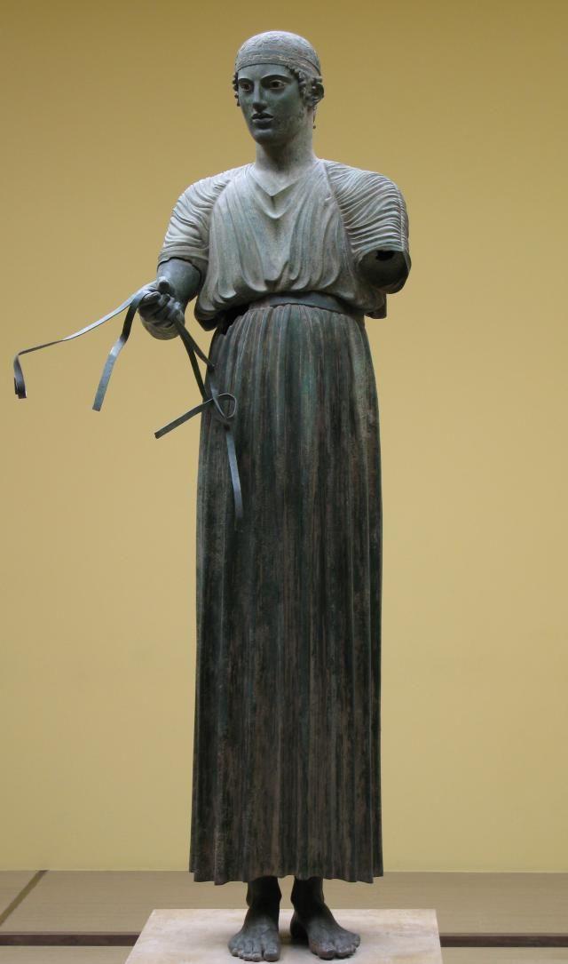 Características de la escultura clásica: Estilo severo: Clasicismo temprano de la escultura griega