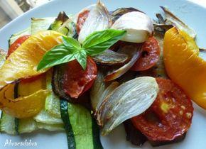 Escalivade de légumes, recette purement catalane, délicieuse pour accompagner les grillades de l'été  www.gites-de-france-66.com