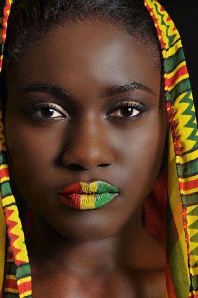 ourcolorfulseoul: (. via (4) Noi amiamo Ghana | Bellezza ...  ourcolorfulseou...