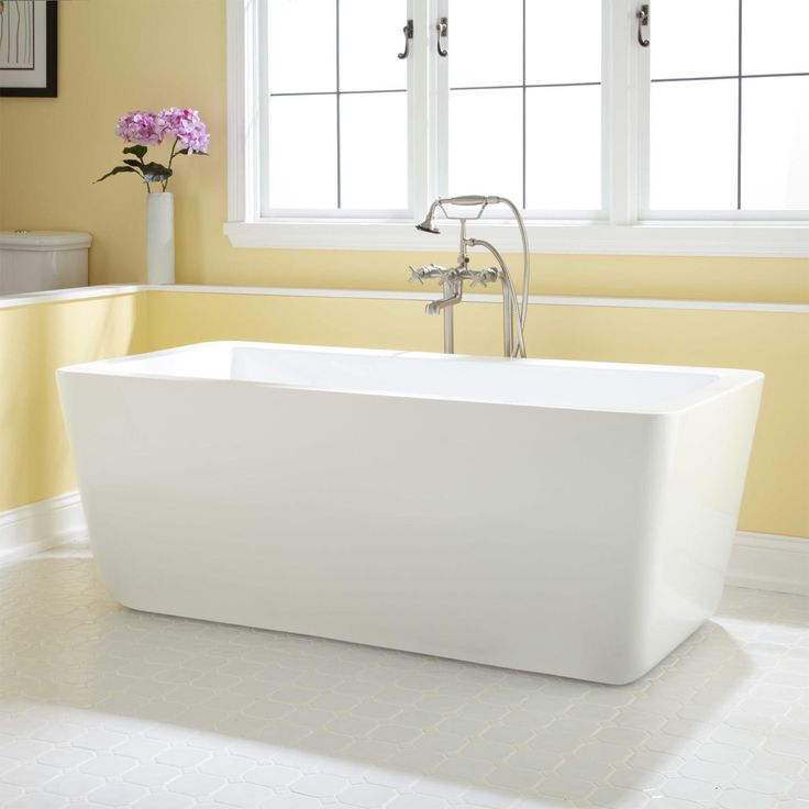 best material for freestanding tub. Audra Acrylic Freestanding Tub 25 best Bathtubs images on Pinterest  Bath tubs Bathroom ideas