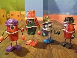juguetes juego simbólico reciclados - Buscar con Google