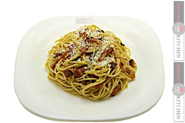 Reteta Spaghete Carbonara - Adygio Kitchen #adygio #adygiokitchen #spaghetti carbonara #spaghetticarbonara #retete de paste