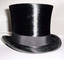 Английский цилиндр шляпа