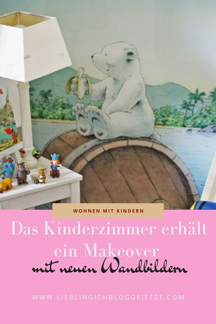 Wandbilder Kinderzimmer // Makeover fürs Kinderzimmer | Kinderräume ...