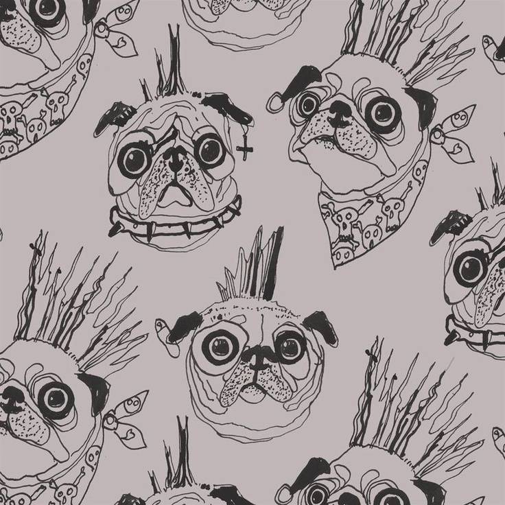Punk Pugs scarf by Age of Reason.  must get.: Pennies Pugs, Punk Pugs, Pugs Pictures, Age, Pugs Long, Pugs Scarfs, Pugs Things, Silk Scarves, Reasons Scarves