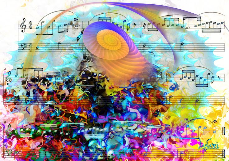 Fractal on the music 10