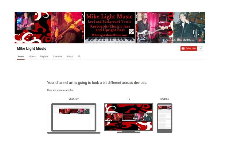 17 Best images about YouTube Channel Art on Pinterest | Heart, The ...