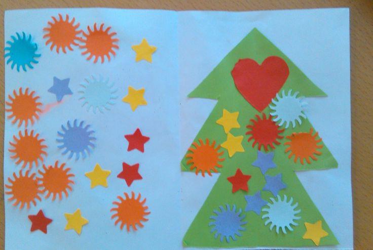 Vianočný pozdrav 1 vnútorná časť.