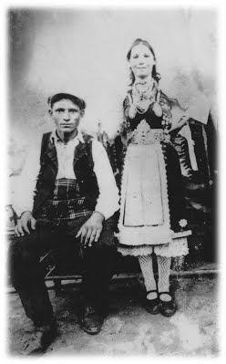 Ζευγάρι από τα χωρά των Μάρηδων 'Εβρου
