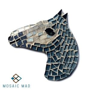 Mosaic DIY Project - HORSE GREY, R49.00