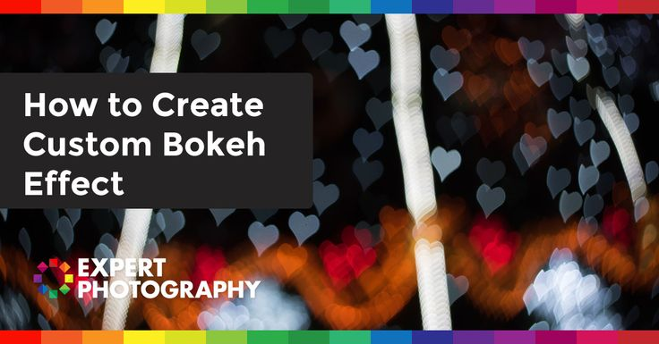 "Have you seen custom bokeh effect images before? Do you know how this kind of bokeh image is created? Photoshop? No. This kind of custom bokeh effect is created by adding a custom made aperture on to the lens. The Custom Bokeh Effect Concept ""In photography, bokeh is the aesthetic..."