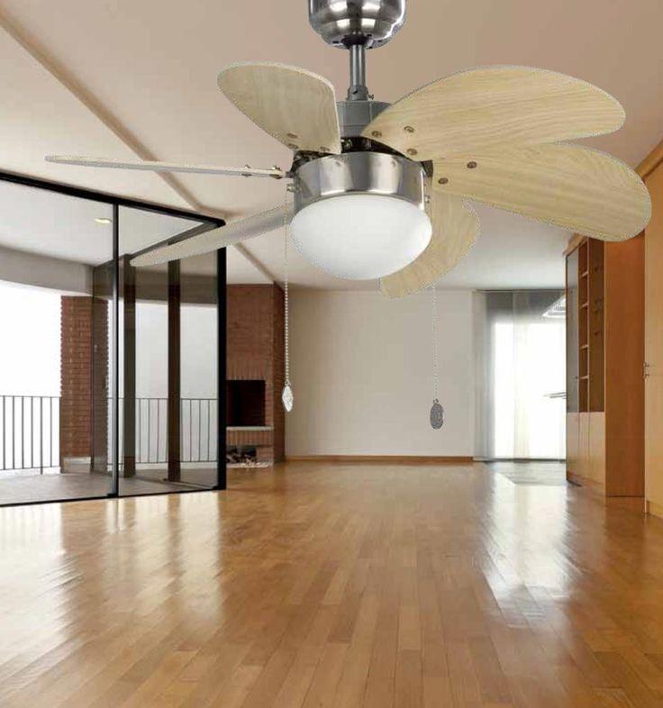 Ventilador de techo n quel palao ambiente ventiladores - Lamparas de ambiente ...