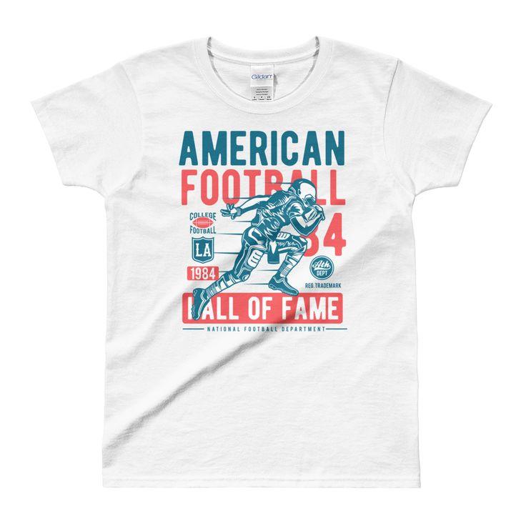 American Football - Ladies' T-shirt #AmericanFootball