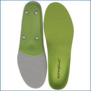 1. Superfeet Green Heritage Insoles, Green