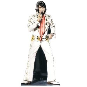 Elvis Presley White Suit Standup