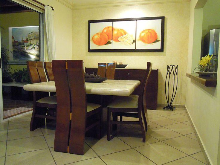comedor marmol & madera Cuernavaca, Morelos, Mexico www.constructoraaviga.com