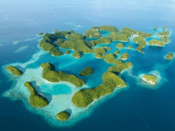 Palau- Wanted to go to this small island nation since elementary school