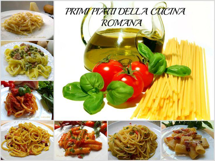 Primi piatti della cucina Romana http://blog.giallozafferano.it/rocococo/primi-piatti-della-cucina-romana/