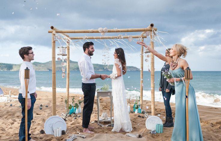 Romantic ceremony! #wedding #Crete Photo on creteforlove