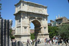 Monumento, Histórico, Roma, Ruina