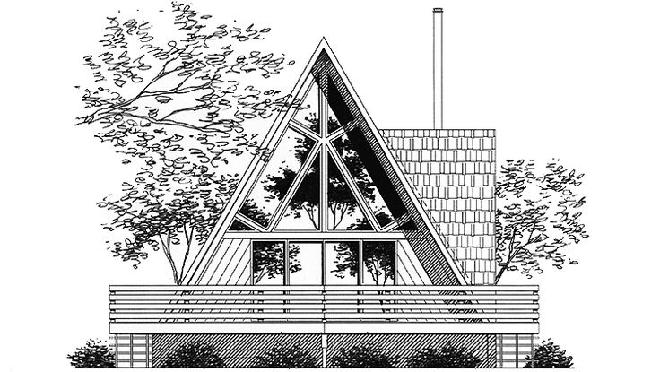 11 best a frame houses images on Pinterest | Log home, A frame cabin ...