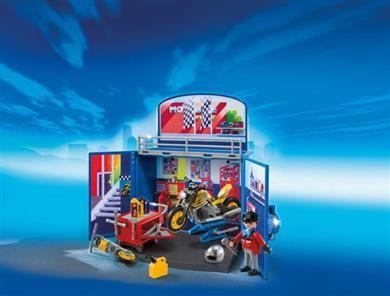 Playmobil Game Box-Συνεργείο Μοτοσυκλετών (6157) - 19,99