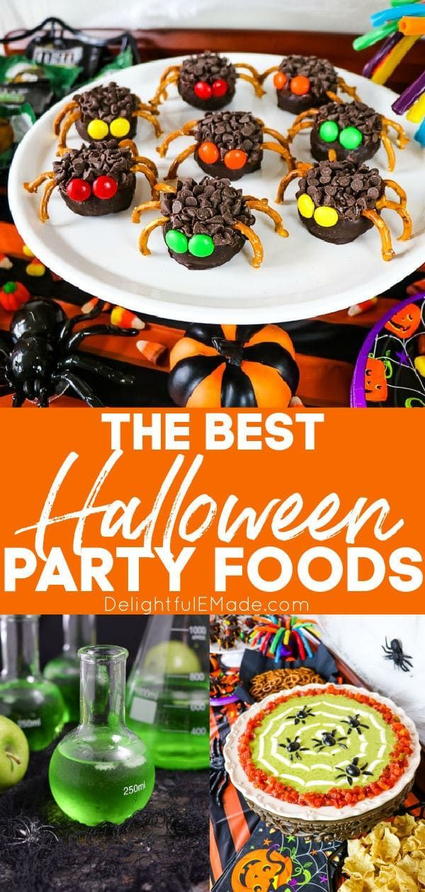 Halloween Party Foods in 2020 Halloween food for party