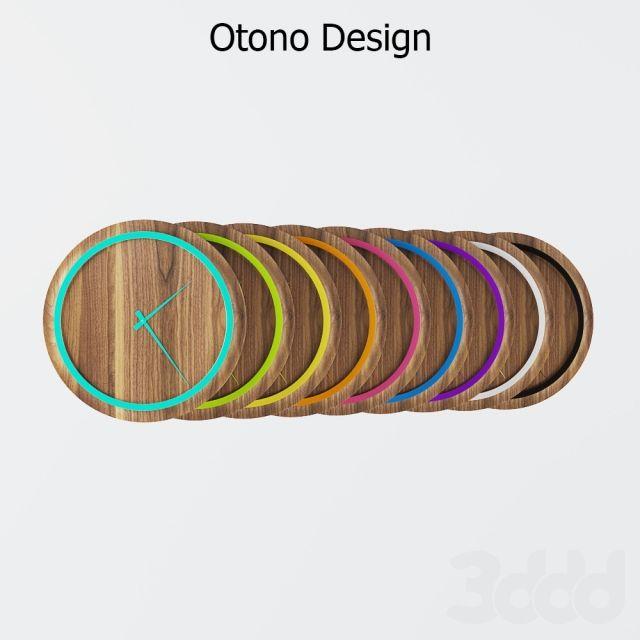 Farbrnfroh clocks Otono design