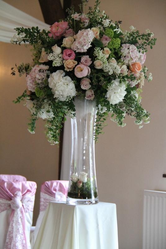 Tall Vase Arrangement Flower Arrangements Pinterest