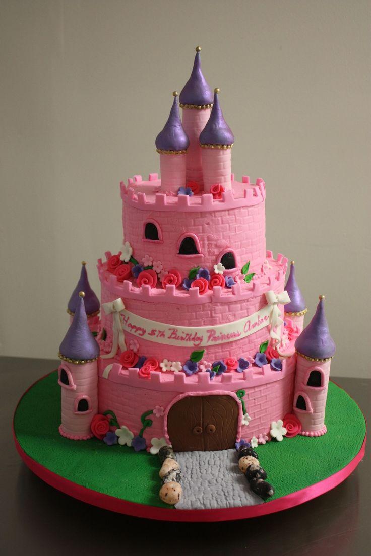 91 best castle cake images on pinterest   princess castle cakes
