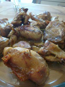 pollo al rosmarino - rosemary chicken