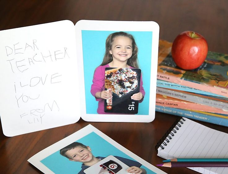 The 25 best personalized gift cards ideas on pinterest birthday 6 coolest and inexpensive ideas for teachers day appreciation gift negle Gallery