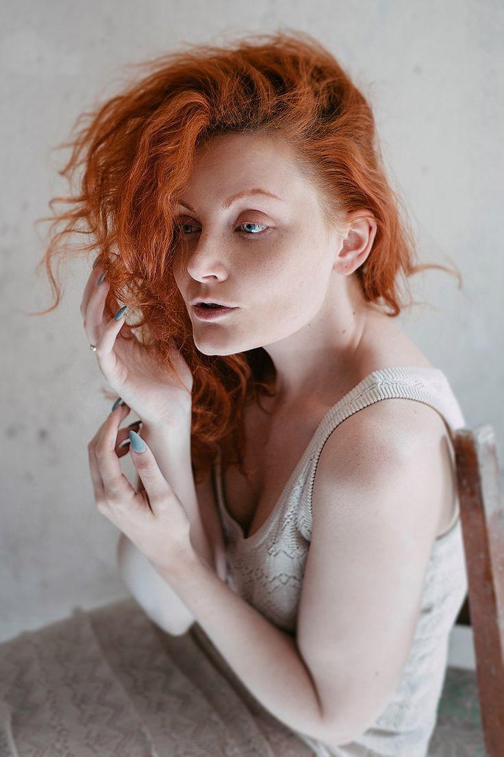 Ekaterina Troyan Art & Creative Art & Creative okeyteam kate troyan photo girl portrait woman red hair pastel