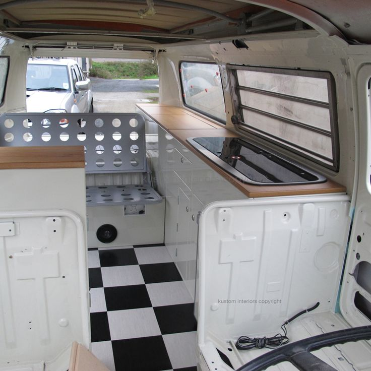 25 best ideas about vw camper conversions on pinterest for Vw kombi interior designs