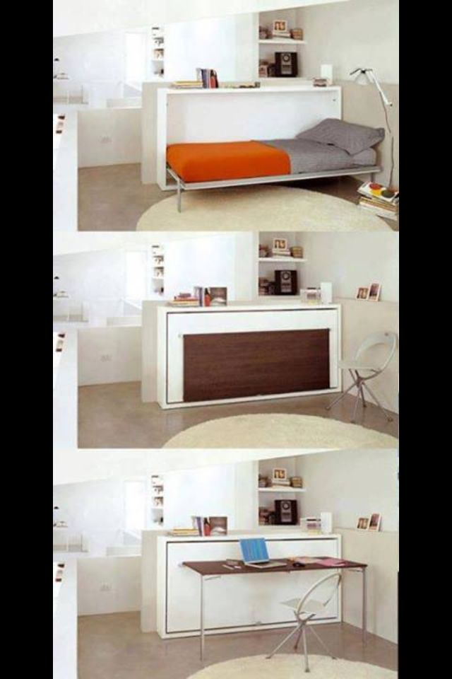Furniture beds for small spaces and guest bed on pinterest - Guest beds for small spaces ...