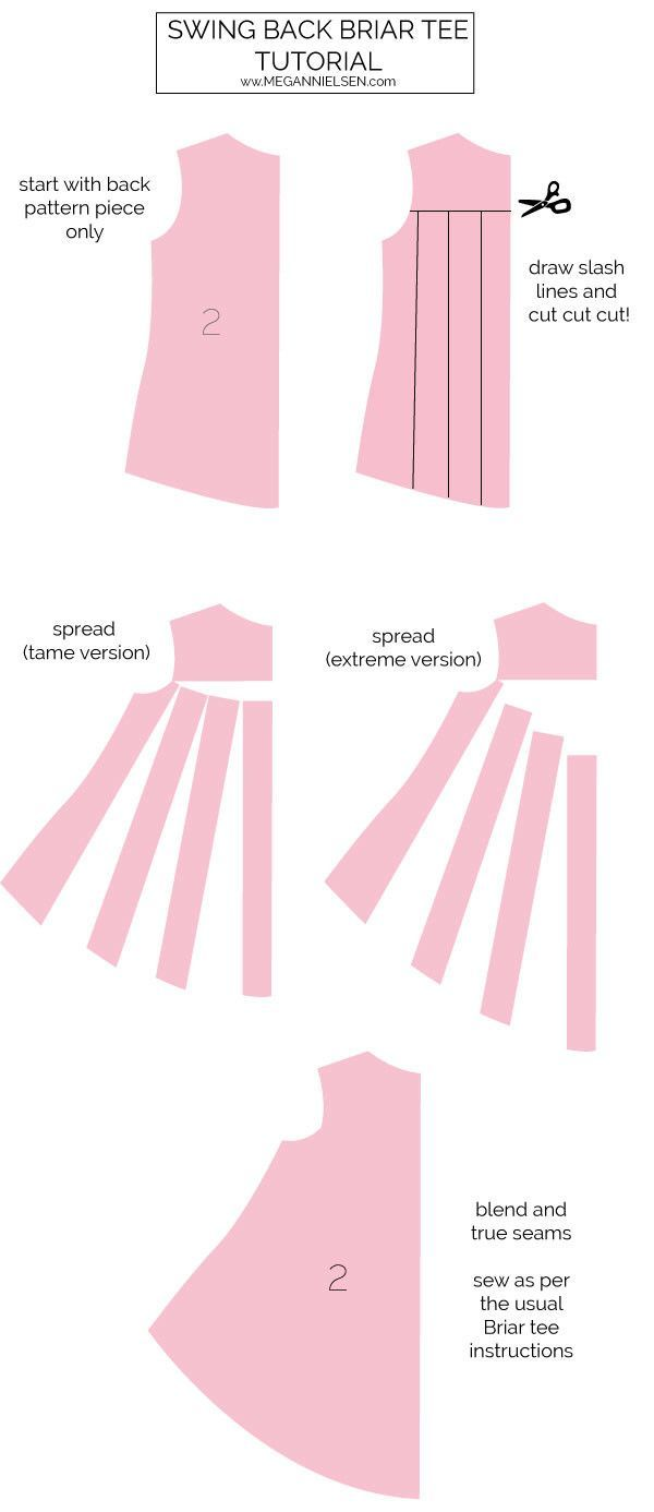 Tutorial // Swing back briar tee