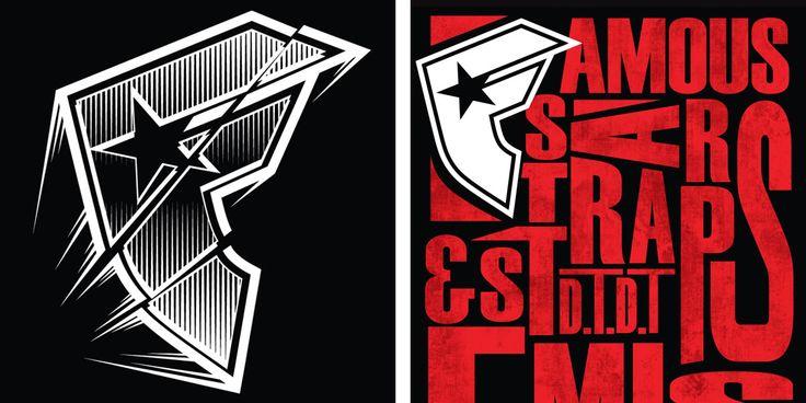 Famous: Famous Stars and Straps T-shirt Design