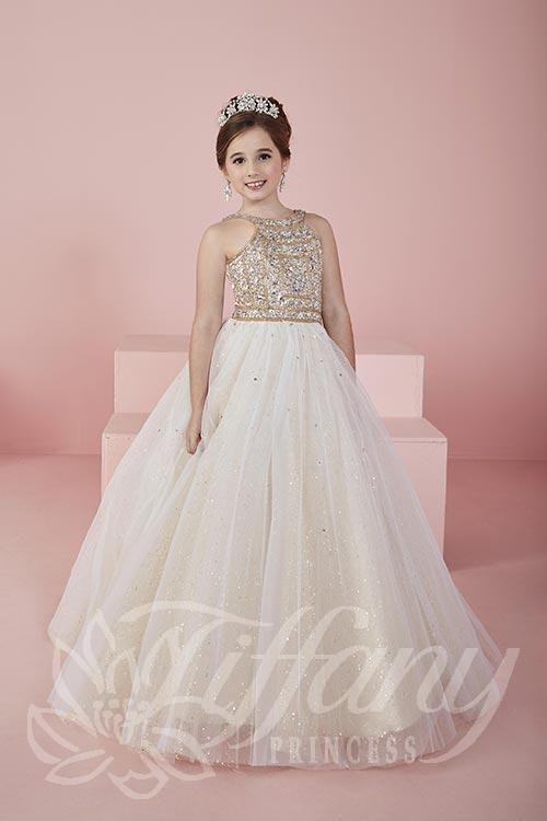 Tiffany Princess Little Girls Pageant Dress Style 13462
