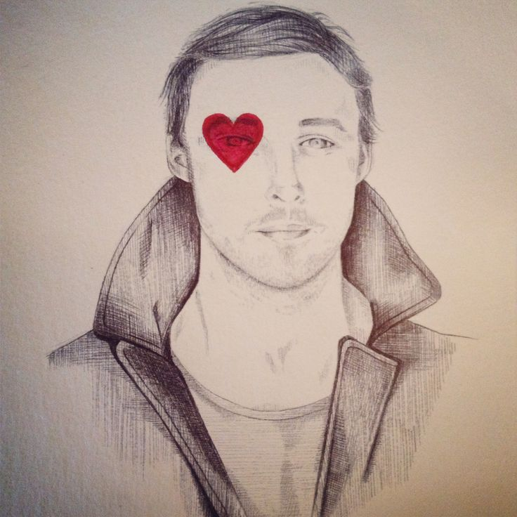 'Gosling' 2013 Pen and Paint