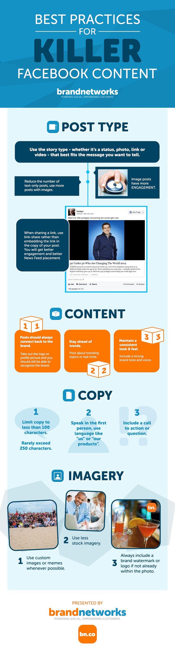 Best Practices for Killer Facebook Content