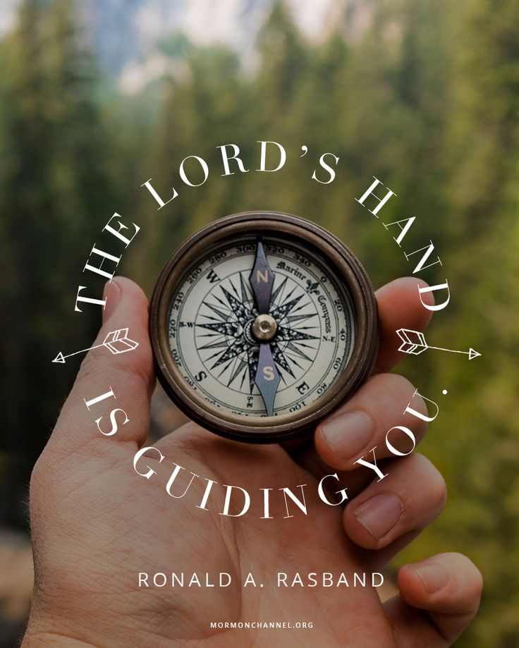 God's Hand Is Guiding You