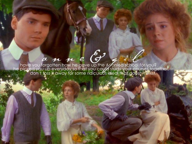 Gilbert Blythe's Love for Anne Shirley <3<3