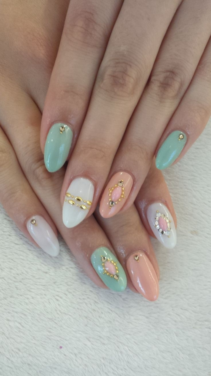 Cute Almond Nails
