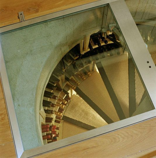 Wine cellar in my kitchen with a trapdoor? Well, if I'm not exorbitantly wealthy and can't buy a house with a full wine cellar, this will do just fine.