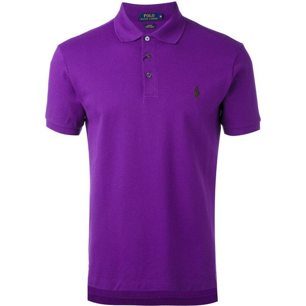 Polo Ralph Lauren classic polo shirt ($99) ❤ liked on Polyvore featuring men's fashion, men's clothing, men's shirts, men's polos, purple, mens purple polo shirts, mens purple shirt, mens polo shirts and polo ralph lauren mens shirts