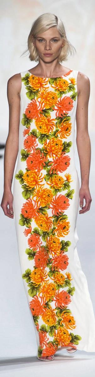Floral Silk Paul & Joe S/S 2013