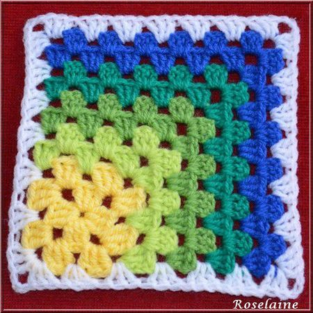 Mitered Granny Square by Crochet Again