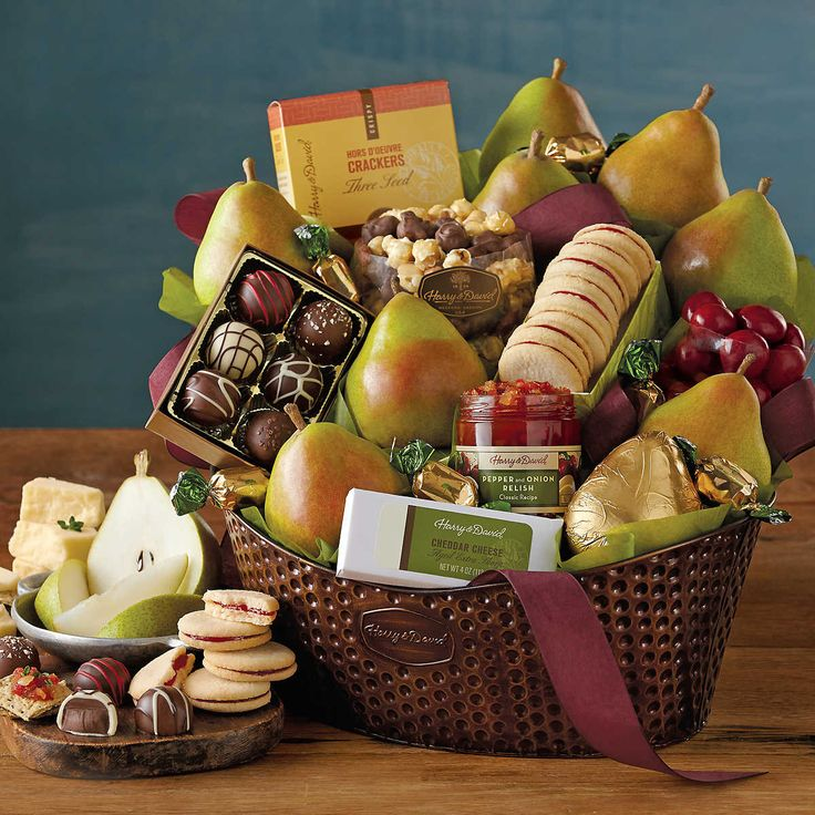 1000 images about holiday tenant gift ideas on pinterest for How to make christmas food baskets