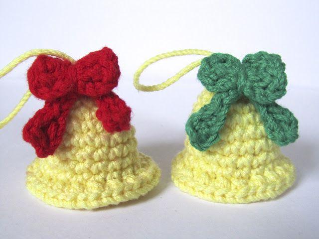 Campanitas Free Crochet Patterns: Free Christmas Christmas Ornament Crochet Patterns