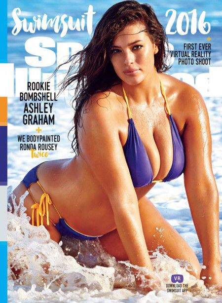 Sports Illustrated Swimsuit 2016 Covers Revealed and are Making History! For the first time, the magazine will feature three individual cover models. Models Hailey Clauson and Ashley Graham (A full-sized figure model) land their own covers as does UFC fighter Ronda Rousey.